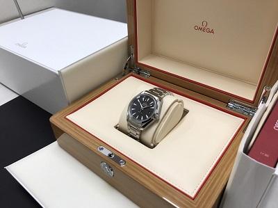 オメガ買取 シーマスター アクアテラ買取 231.10.39.60.06.001 腕時計 美品 高価買取 七条店