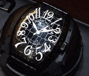フランクミュラー買取 福岡 天神 時計買取 福岡 大名 博多 ブラッククロコ 9880SC買取