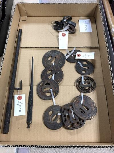日本刀 鍔買取 骨董品売るなら信頼と実績MARUKA 全国出張買取可能