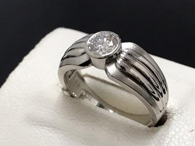 ダイヤモンド買取 0.48ct リング Pt900 プラチナ買取 宝石買取 七条店
