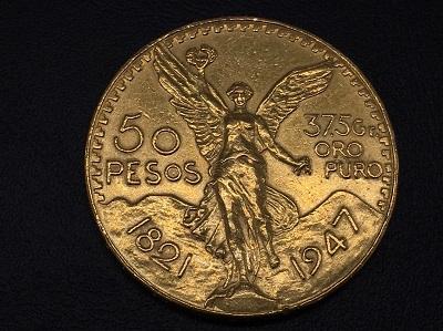 コイン買取 メキシコ50ペソ買取 金貨買取も京都市 中京区のMARUKA大宮店へ
