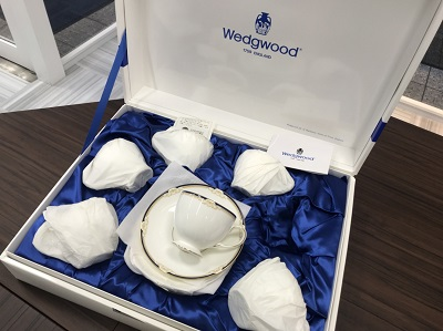 ウェッジウッド買取 ウェッジウッドキャベンディッシュ リー カップ&ソーサー  6客セット ウエッジウッド売却も京都 中京区のMARUKA大宮店へ!