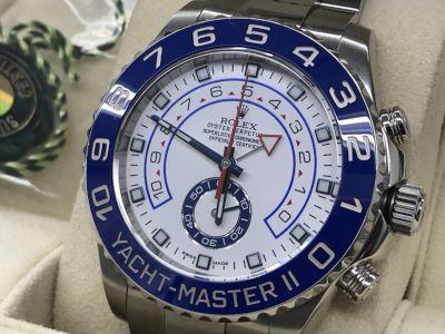 ロレックス ヨットマスターⅡ買取 ランダム 大阪で時計売るならMARUKA心斎橋店