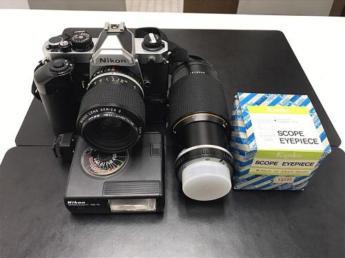 カメラ買取 Nikon FM2 MD-12 七条 買取