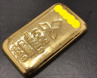 京都 インゴッド K24 K18  貴金属買取はMARKAへ マルイ店 祇園から近くにあります