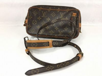 ヴィトン買取 ポシェットマルリーバンドリエール 中古バッグはMARUKA心斎橋店