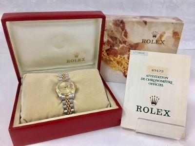 ロレックス買取 デイトジャスト 日付遅れ有 時計売るならMARUKA大阪心斎橋店