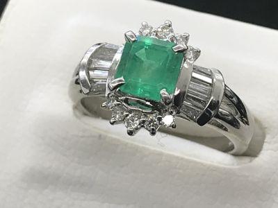 エメラルド/ダイヤモンドリング買取 宝石買取りは信頼と伝統のMARUKA心斎橋店へ