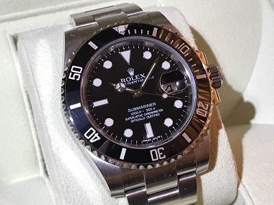 ロレックス買取 サブマリーナデイト 116610LN ランダム品番 時計買取 渋谷