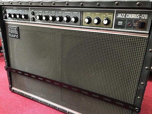 Roland アンプ買取 JC-120 ジャズコーラス 大型楽器はMARUKA楽器の出張買取で
