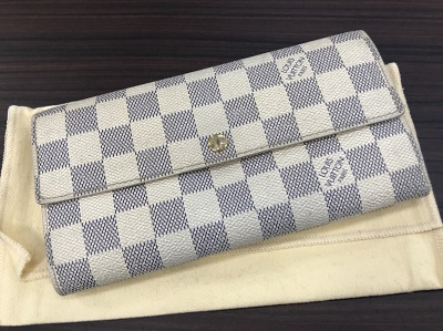 ルイ ヴィトン買取 ポルトフォイユ サラ アズール N61735買取 TH1018 ルイ ヴィトン売却も京都 MARUKA大宮店へ!!