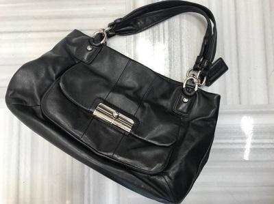 コーチ買取 クリスティン トートバッグ 16814 レザー ブラック コーチ売却も京都 MARUKA大宮店にお任せ下さい