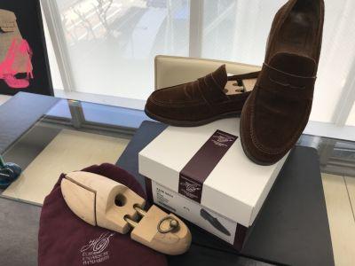 ハインリッヒ・ディンケルアッカー買取 ローファー Wien 靴も大阪MARUKA心斎橋店にお売りください