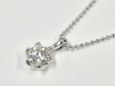 ダイヤモンドネックレス買取 0.53ct プラチナ ネックレス 渋谷 世田谷 高価買取