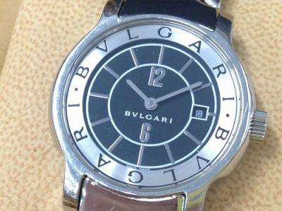 ブルガリ時計買取 ソロテンポ ST29S ブランドの時計買取も大阪MARUKA心斎橋店