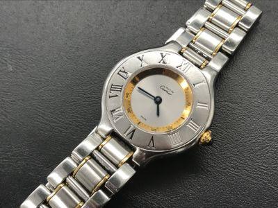 カルティエ時計買取 マスト21 傷だらけの時計買取もやっぱり大阪MARUKA心斎橋店
