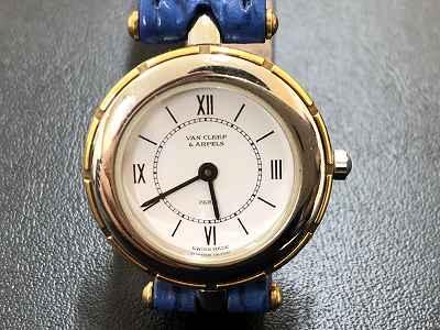 ヴァンクリーフ&アーペルレディース 止まっている時計の無料見積もりは京都マルカマルイ店へ