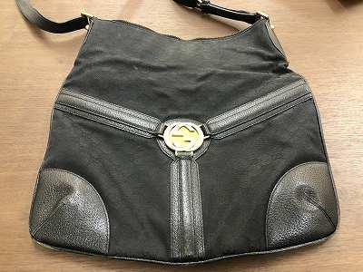 グッチ 状態の悪いブランドバッグ、財布、小物買取といえば京都四条河原町マルカマルイ店
