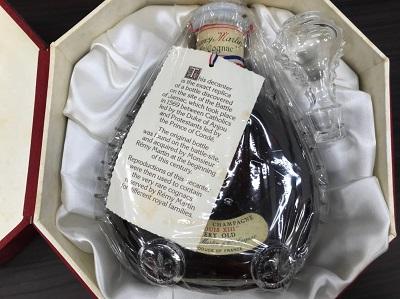 洋酒買取 レミーマルタン ルイ13世買取 ベリーオールド 箱 替え栓付 お酒売却もマルカ(MARUKA)の出張買取