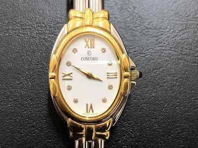 コンコルド レディース時計買取 止まっている時計買取は四条河原町マルカマルイ店