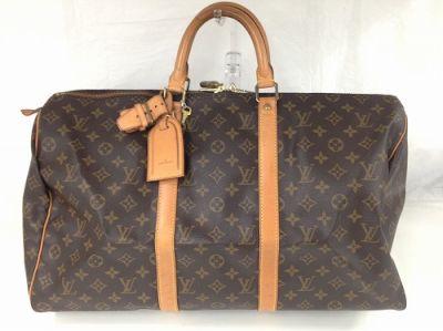 ルイヴィトン買取 ボストンバッグ キーポル50 28年前のバッグが・・・MARUKA心斎橋店