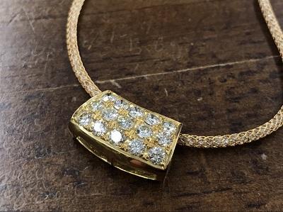 メレダイヤモンド買取 2.25ct ネックレス買取 K18 金 宝石 西院 西京極 西七条 吉祥院 七条店