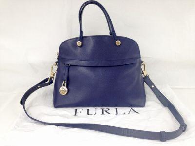 フルラ 2WAYバッグ買取 ヴィトン以外のバッグ買取もMARUKA心斎橋店へ