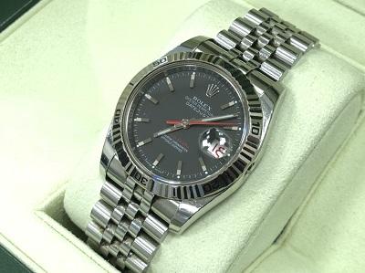 ロレックス買取 腕時計買取 デイトジャスト ターノグラフ 116264 SS×WG 京都 河原町 四条 市役所前