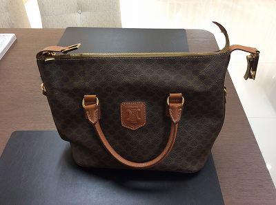 セリーヌ マカダム ブランドバッグ デザインが古くなっても買取マルカマルイ店