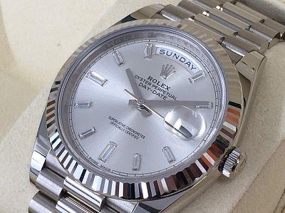 ロレックス デイデイト40買取 750WG 高級機械式時計買取ならMARUKA大阪心斎橋店
