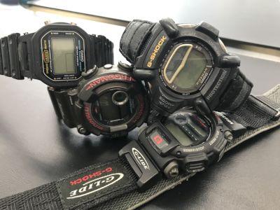 CASIO G-SHOCK買取 電池切れでもベルトが切れてても時計買取はMARUKA心斎橋店