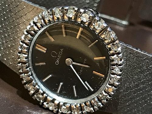 オメガ 時計 買取 ダイヤ ウォッチ ブランド 腕時計