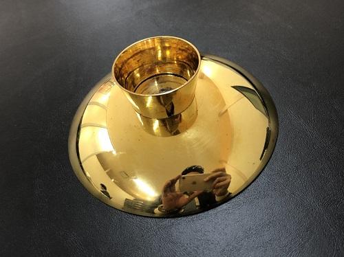 純金 金杯 金盃 貴金属 24金 K24 196g 金高価買取 京都四条河原町 祇園 市役所前