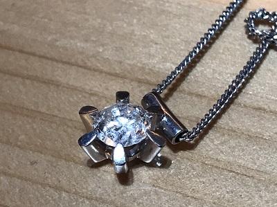 ダイヤモンド買取 1.38t ネックレス買取り プラチナ 祇園 河原町 烏丸 四条通 四条店