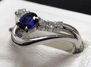 サファイア 指輪 高価買取 宝飾品を売るならマルカ七条店