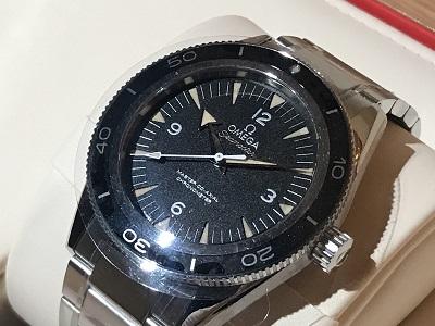 オメガ時計買取 シーマスター300 コーアクシャル時計 買取 渋谷 東京 世田谷区
