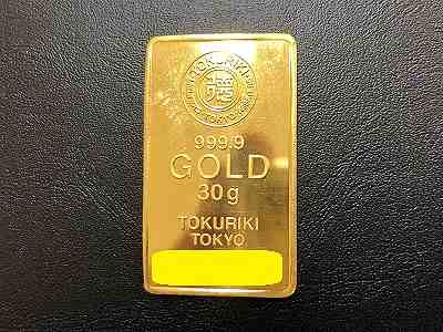 K24 インゴッド 30.0g買取 地金もインゴッドも日本最高買取価格MARUKAマルイ店へ