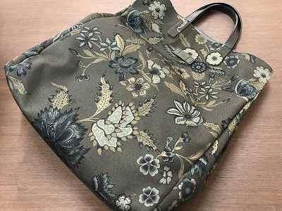 グッチ 花柄 トートバッグ買取 使われないブランドバッグ買取 京都 三条 北山 山科 MARUKAマルイ店