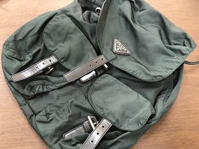プラダ リュック 買取 デザインが古いバッグ買取可能です。京都 滋賀 山科買取MARUKAマルイ店