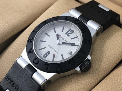 ブルガリ アルミニウム買取 AL38TA 時計買取なら 神戸市 中央区 三宮 MARUKA