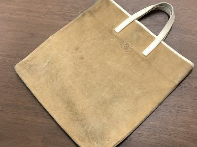 ロエベ レザートートバッグ買取 状態が悪いバッグでも買取 京都 滋賀 河原町  MARUKAマルイ店