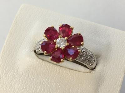 プラチナ ルビー買取 ダイヤモンド リング買取なら 三宮 元町 神戸マルイ MARUKA