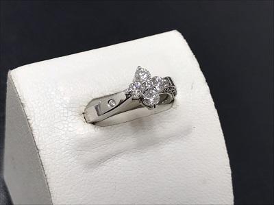 ダイヤモンド買取 K18WG 0.502ct 0.16ct 5.6g 宝石 神戸三宮 買取