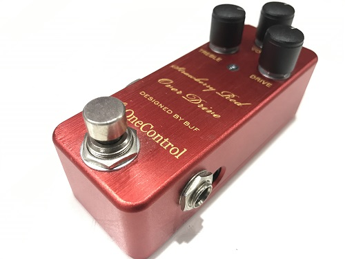 ONE CONTROL Strawberry Red Over Drive 買取 京都のエフェクター買取はお任せ下さい!