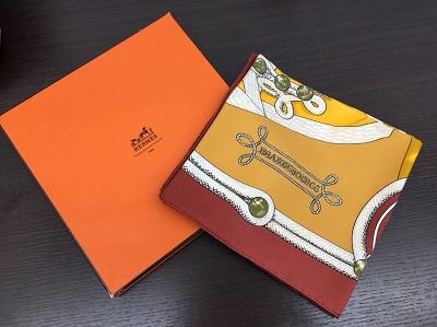エルメス カレ買取 スカーフ シルク買取なら 阪急 宝塚 西宮北口 仁川 MARUKA
