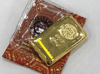 金 インゴット買取 田中貴金属工業 200g インゴット高く売るなら京都 MARUKA大宮店へ
