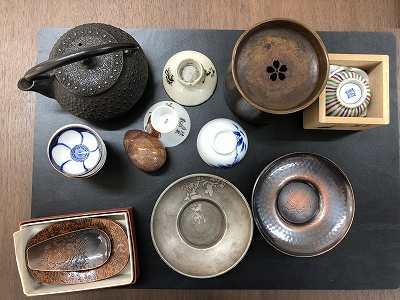 骨董品 茶道具 茶器買取 出張買取 店頭買取 京都 三条 四条 河原町買取はMARUKAマルイ店へ