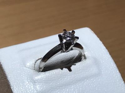 ダイヤモンド買取 Pt900 0.32ct 4.6g 宝石 宅配買取