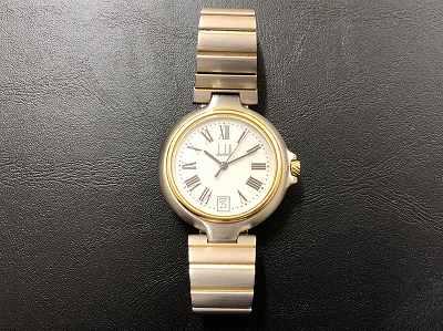 ダンヒル時計買取 レディース クォーツ買取 止まっている時計買取 京都 山科 北区MARUKAマルイ店