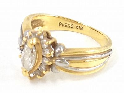 ダイヤモンド買取 小さなダイヤのファッションリングでもきっちり査定 MARUKA心斎橋店